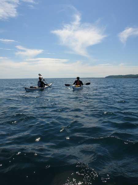 Lake Superior kayaks