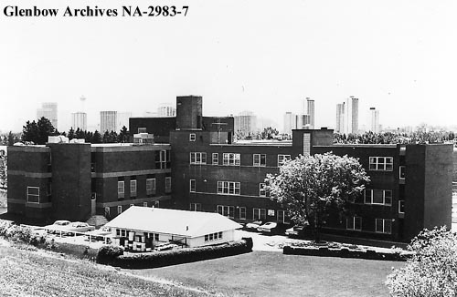 Glenbow archives photo Grave Hospital 1970s