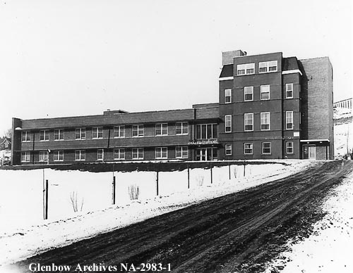 Grace Hospital 1950s Glenbow Archives