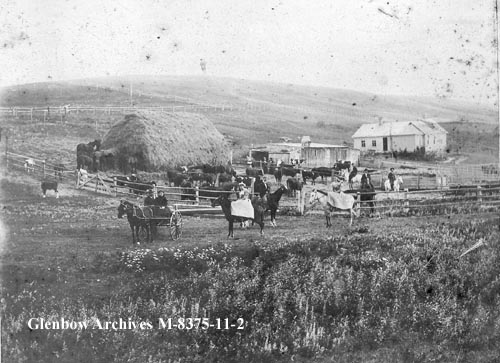 Riley Farm, Calgary 1890s Photo Courtesy Glenbow Archives