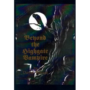 cover Beyond The Highgate Vampire