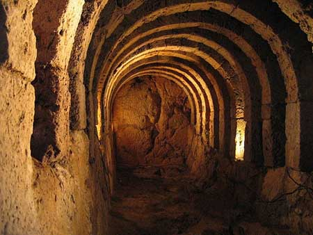 ancient tunnels