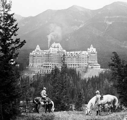 Banff Springs Hotel, October 1929, Banff, Alberta