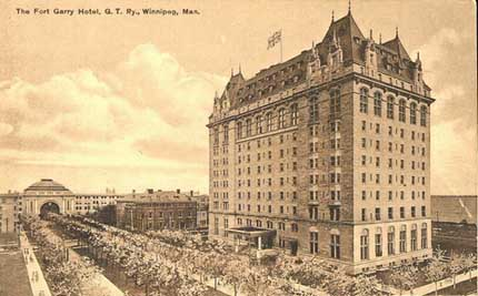 Fort Garry Hotel, Winnipeg, Canada.