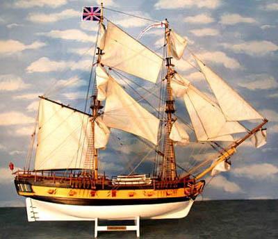 The HMS Ontario