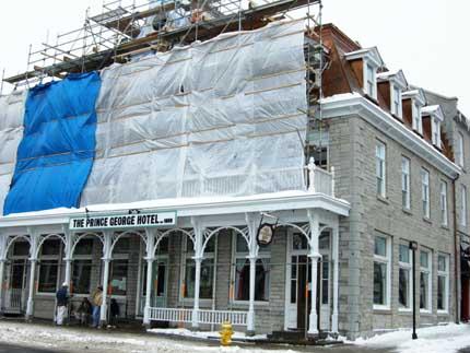 Under Renovation Winter 2009
