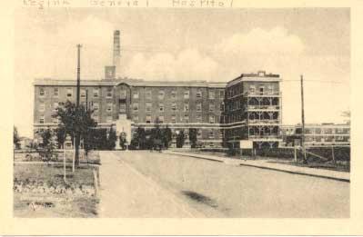 The Regina General Hospital 1925