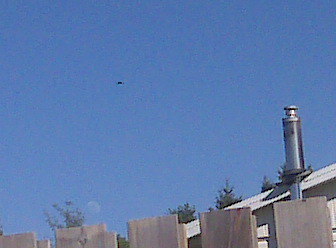 UFO photo taken June 2010 just west of Orillia Ontario