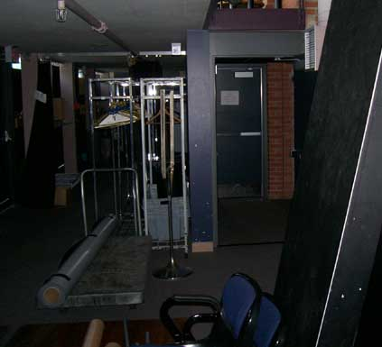 Backstage Enwave Theatre