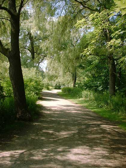 Path At South End Of High Park Toronto Ontario