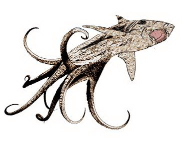 image of shar - octopus creature